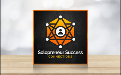 Solopreneur Success Connections Logo on Table